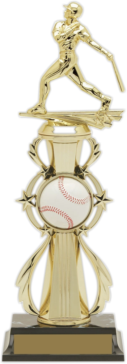"13-inch Baseball ""Double Play"" Trophy - 96503"