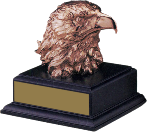 Eagle on Black Base - AE8006-B