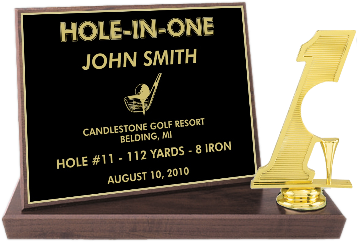 xxxHole-in-One Billboard Trophy - BBFS7