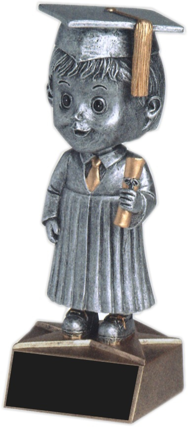 Male Graduate Bobble Head - BH-543