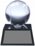 Crystal Baseball Award - CRBB1 - CRBB1