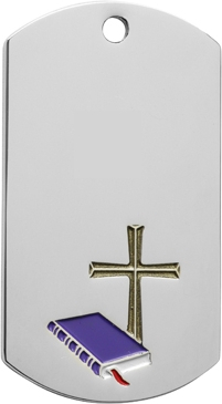 Religion Dog Tag Key Ring - DT39005-KR