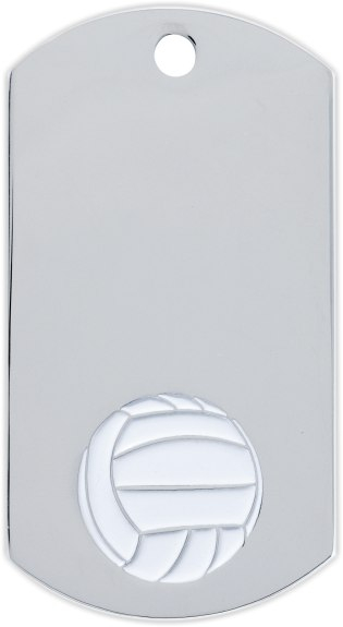 Volleyball Dog Tag Medal - DT39518