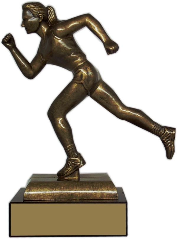 "8-inch Female Runner ""Prestige"" Trophy - FM34-TRF"