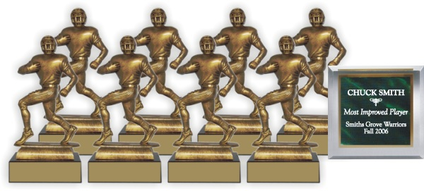 Football Trophy Package - FM34FB - FM34FB-PACK