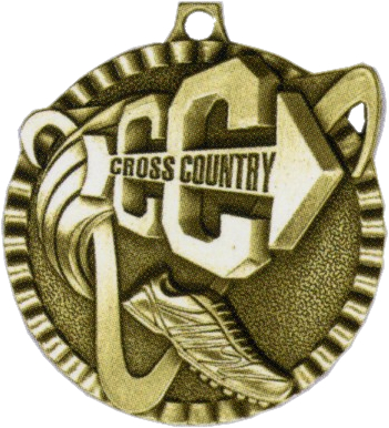 "2"" Cross Country Medallion - G2M05-NR"