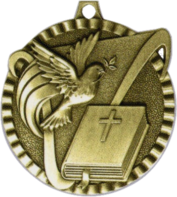 "2"" Religion Medallion - G2M13-NR"