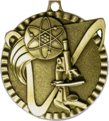 "2"" Science Medallion - G2M14-NR"