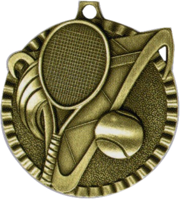 "2"" Tennis Medallion - G2M17-NR"
