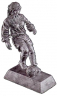 Soccer Female - Pewter - 50402-S
