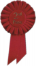 2nd Place Rosette - I5RBS2