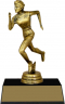 "7-inch Female Track Runner ""Competitor"" Trophy - JDS43-8369"
