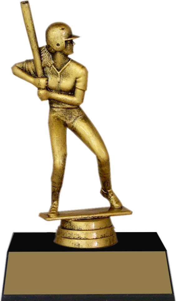"7-inch Female Batter ""Competitor"" Trophy - JDS43-8619"