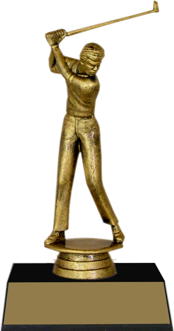 "7-inch Male Golfer ""Competitor"" Trophy - JDS43-8631"