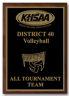 xxxKHSAA Volleyball District/Regional All Tournament/MVP Plaques