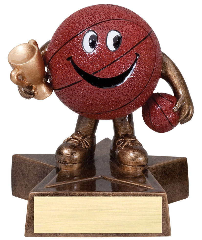 Basketball Lil' Buddy Resin - LBR03