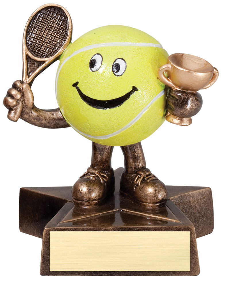 Tennis Lil' Buddy Resin - LBR15