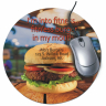 "8"" Round Color Imprinted Mouse Pad - MOUSE-2"