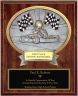 Go-Kart Oval Plaque - OP54350