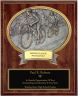 Road Bike Oval Plaque - OP54589