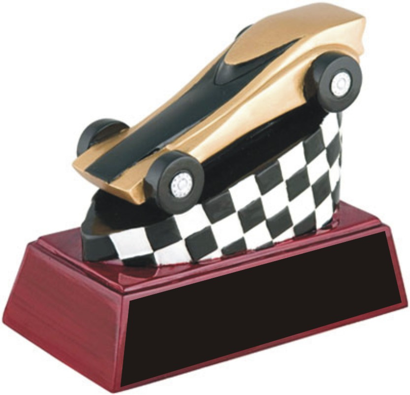 """Flash""  Pinewood Derby Racer - RC-448"