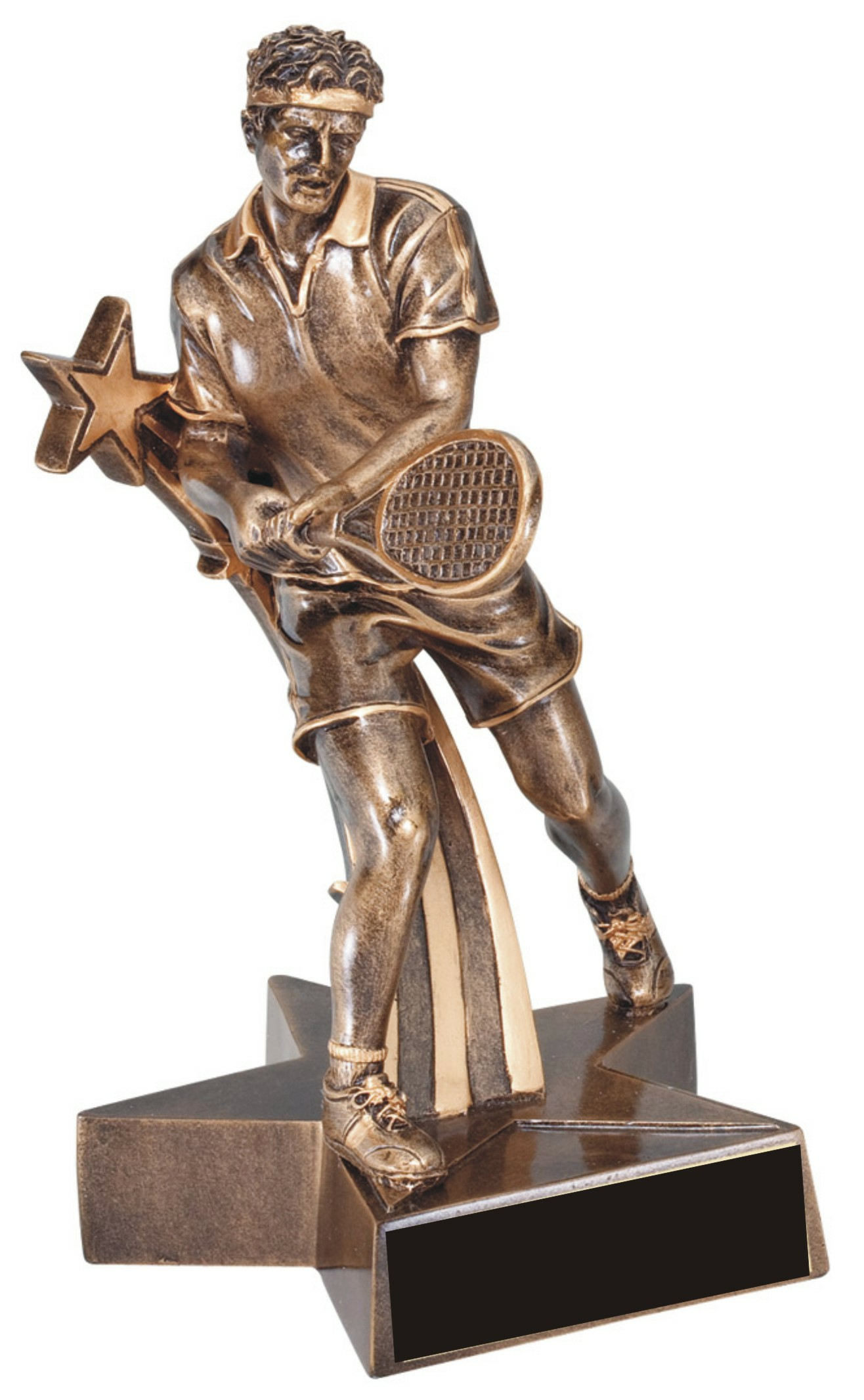 "6-1/2"" Male Tennis Superstar Resin - RST320"