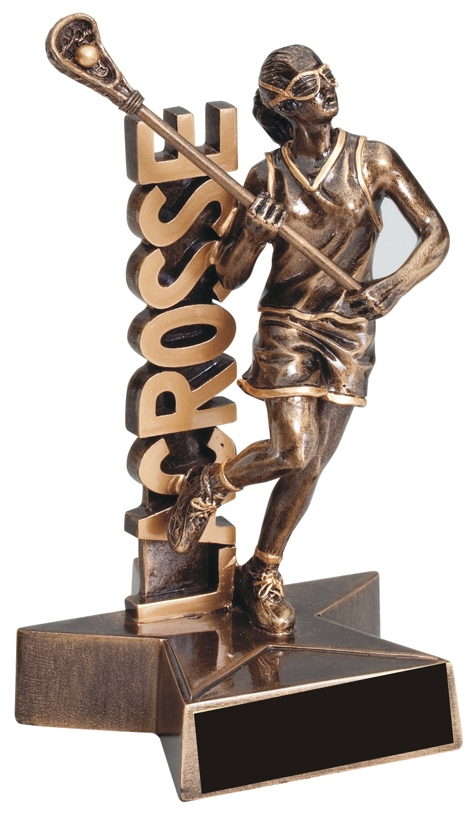 "6-1/2"" Female Lacrosse Superstar Resin - RST341"