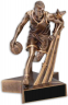"8-1/2"" Male Basketball Superstar Resin - RST503"