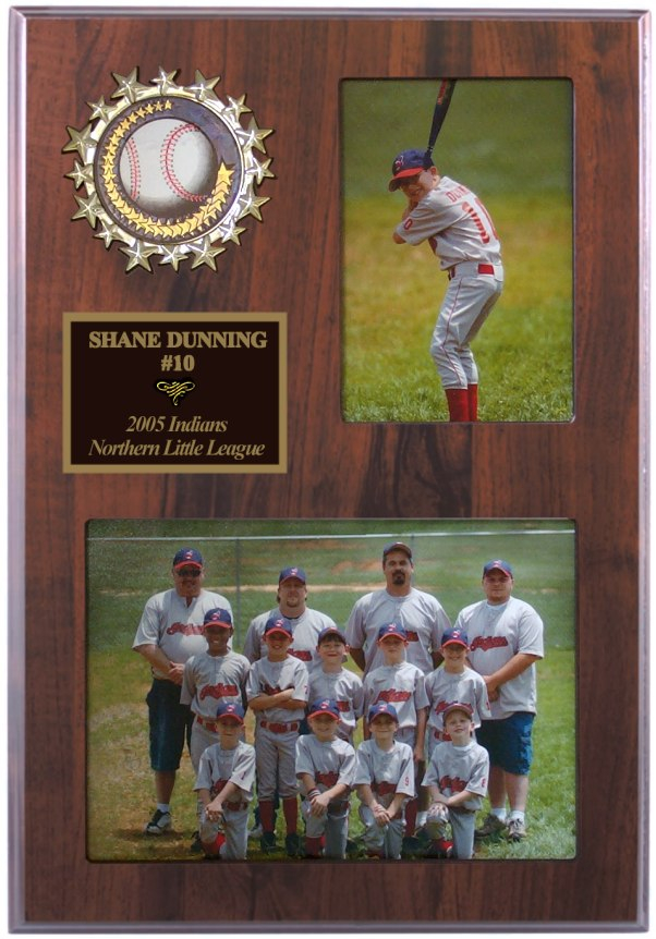 "9"" x 12"" Team/Player Photo Plaque - SDN21"