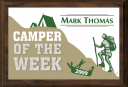 "5"" x 7"" Camper of the Week Plaque - SP57-CAMP3"