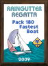 xxxCub Scout Color Raingutter Regatta Plaque