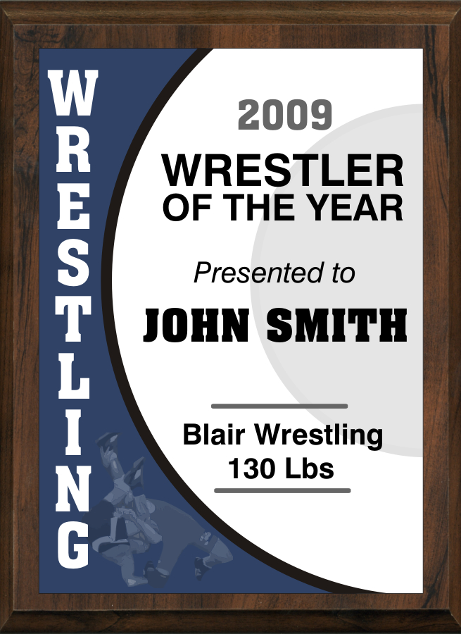 xxxWrestling Plaque