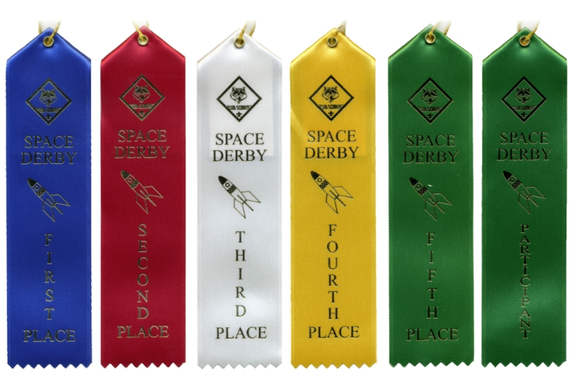 Space Derby Ribbon Package - SPD-PACK