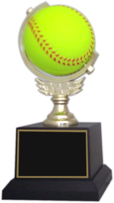 "7-1/2 inch ""Spinner"" Softball Trophy - SPN33-SB"