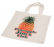 "15"" x 15 3/4"" White Canvas Tot Bag - TOT-1"