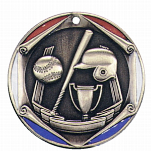 "2"" Baseball Medallion - FR-042-NR"