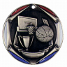 "2"" Basketball Medallion - FR-052-NR"