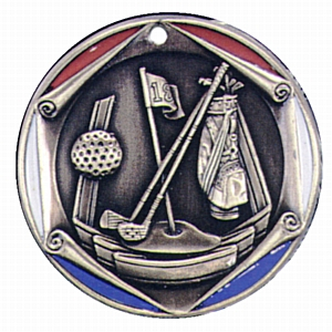 "2"" Golf Medallion - FR-202-NR"
