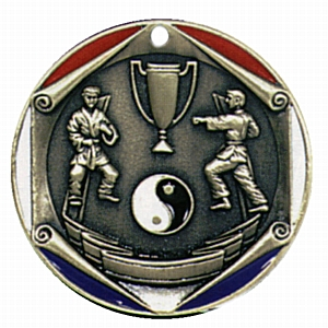 "2"" Karate Medallion - FR-342-NR"
