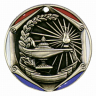"2"" Lamp of Knowledge Medallion - FR-370-NR"