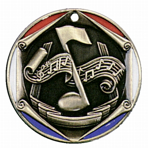 "2"" Music Medallion - FR-420-NR"