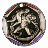 "2"" Wrestling Medallion - FR-982-NR"