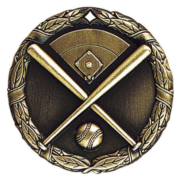 "2"" Baseball Medallion - XR-201-NR"
