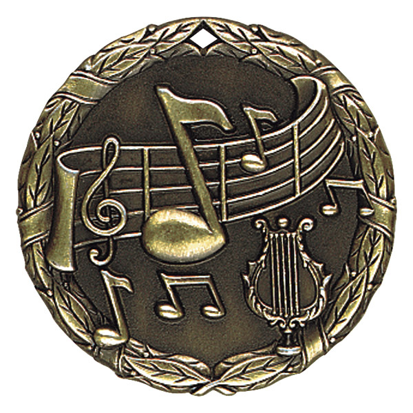 "2"" Music Medallion - XR-230-NR"