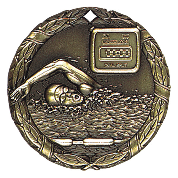 "2"" Swimming Medallion - XR-240-NR"