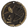 "2"" Science Medallion - XR-252-NR"