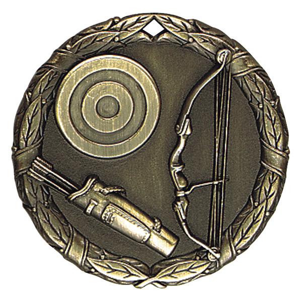 "2"" Archery Medallion - XR-260-NR"