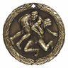 "2"" Wrestling Medallion - XR-262-NR"