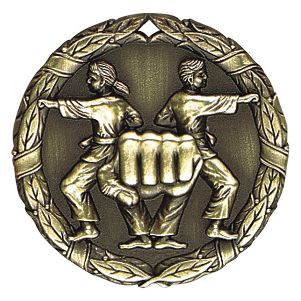 "2"" Karate Medallion - XR-269-NR"