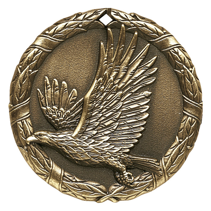 "2"" Eagle Medallion - XR-291-NR"